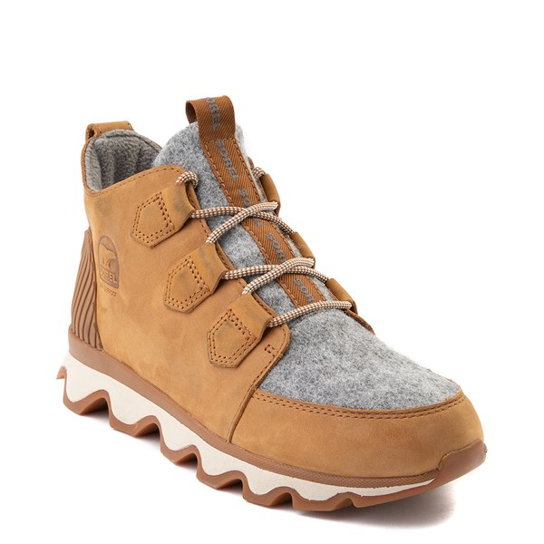 alternate view Womens Sorel Kinetic™ Caribou Boot - Camel BrownALT1