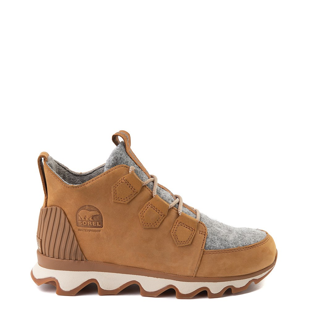 Womens Sorel Kinetic™ Caribou Boot - Camel Brown