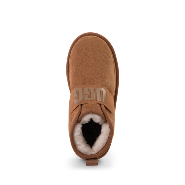 alternate view UGG® Neumel Slip On Boot - Little Kid / Big Kid - ChestnutALT2