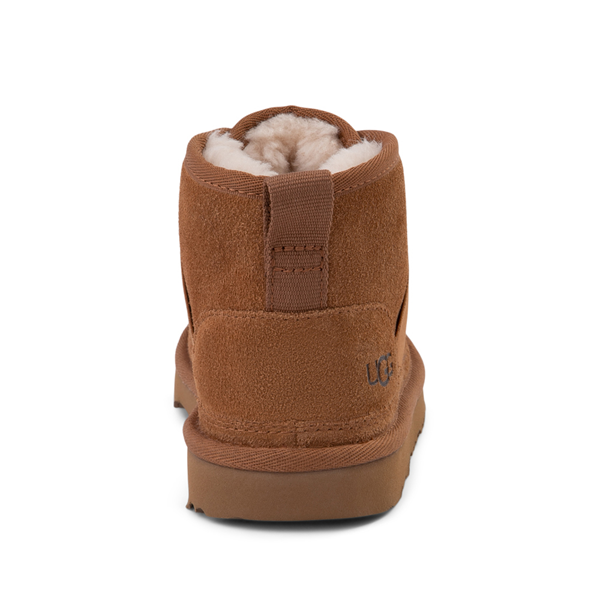 alternate view UGG® Neumel Slip On Boot - Little Kid / Big Kid - ChestnutALT4