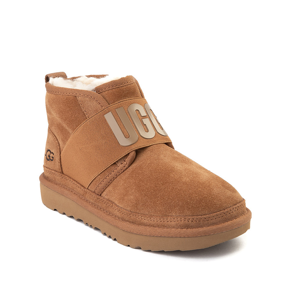 alternate view UGG® Neumel Slip On Boot - Little Kid / Big Kid - ChestnutALT5