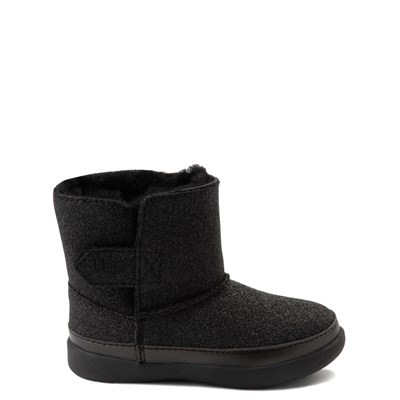 Main view of UGG® Keelan Glitter Boot - Baby / Toddler - Black