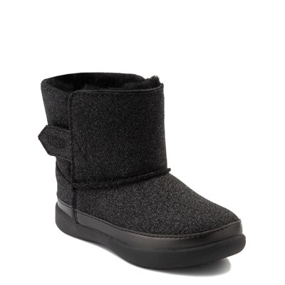 Alternate view of UGG® Keelan Glitter Boot - Baby / Toddler - Black
