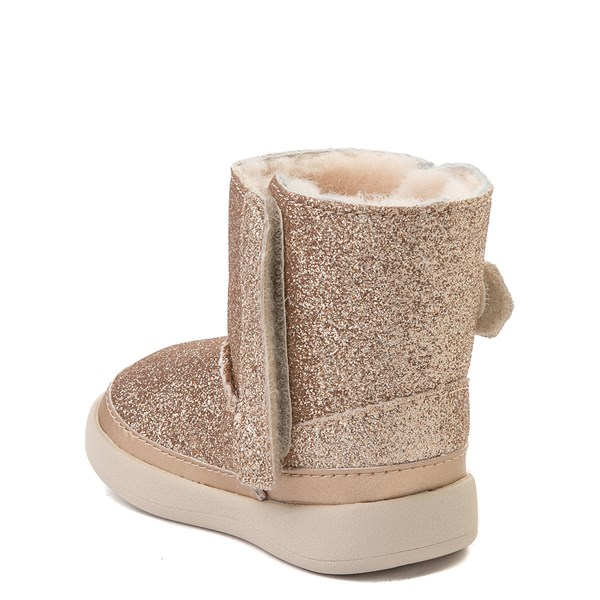 alternate view UGG® Keelan Glitter Boot - Baby / Toddler - GoldALT2