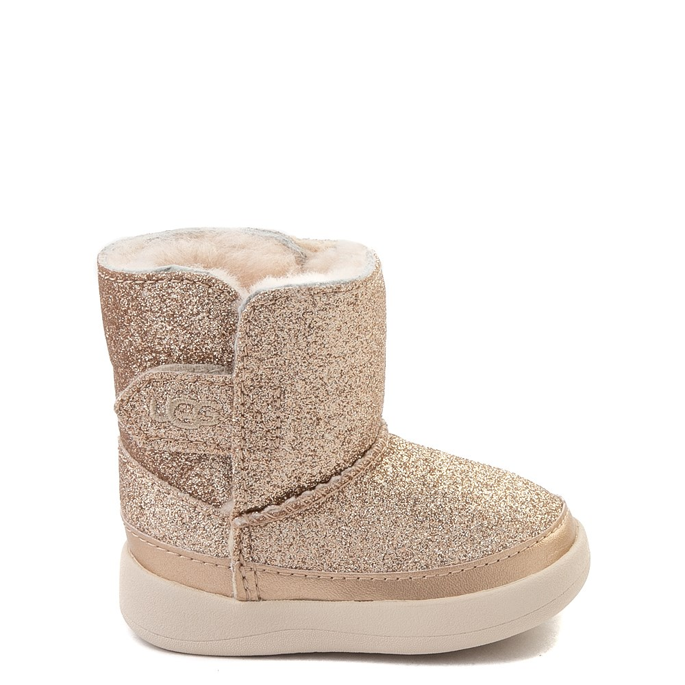 UGG® Keelan Glitter Boot - Baby / Toddler - Gold