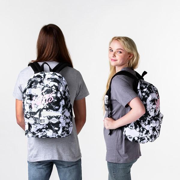 alternate view Vans Realm Cloud Wash Backpack - Black / WhiteALT1BADULT