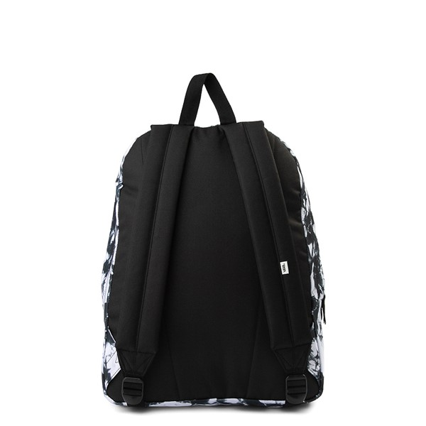 alternate view Vans Realm Cloud Wash Backpack - Black / WhiteALT2