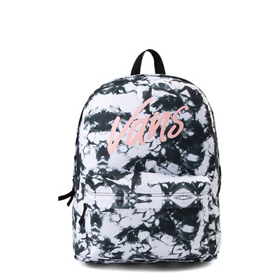 Main view of Vans Realm Cloud Wash Backpack - Black / White