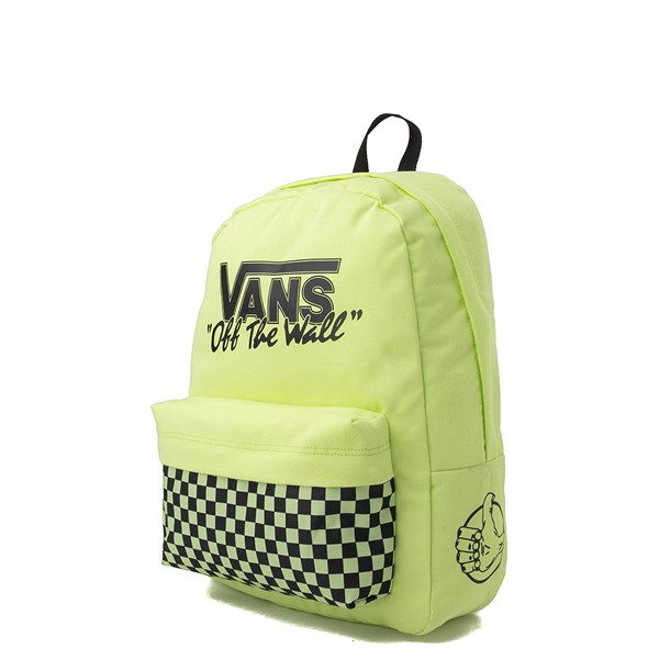 alternate view Vans Old Skool Backpack - Sharp Green / BlackALT2