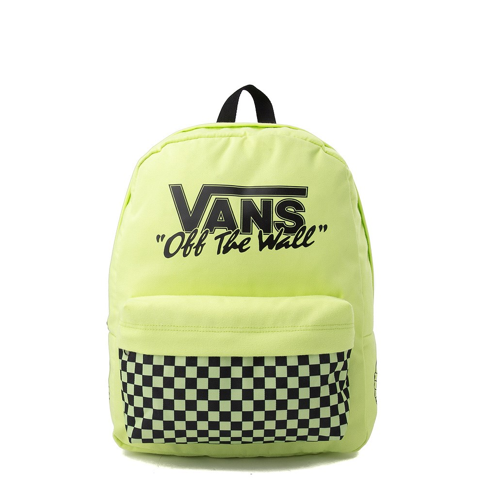 Vans Old Skool Backpack - Sharp Green / Black