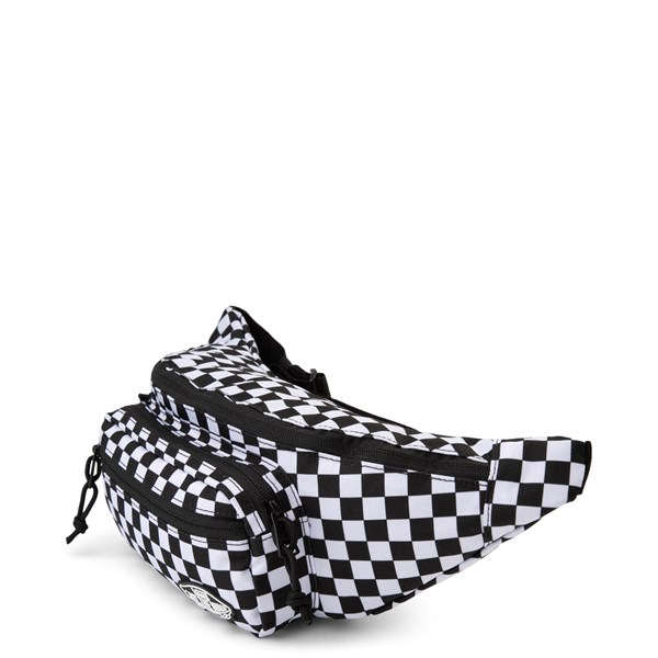 alternate view Vans Street Ready Checkered Travel Pack - Black / WhiteALT2