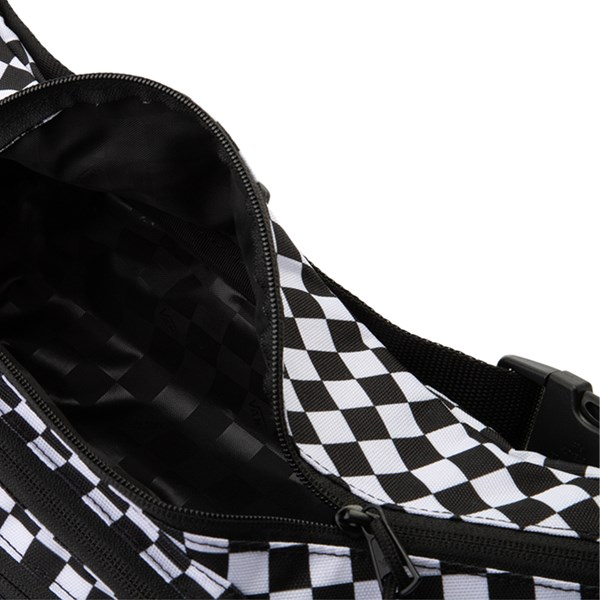 alternate view Vans Street Ready Checkered Travel Pack - Black / WhiteALT3