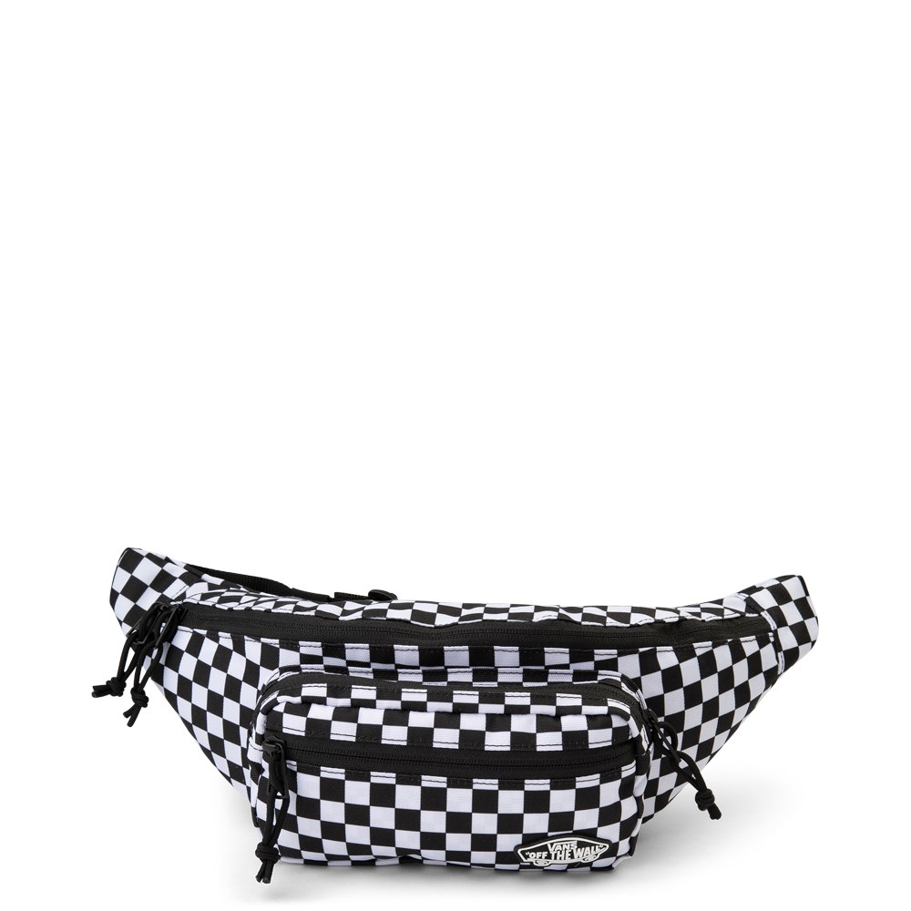 Vans Street Ready Checkered Travel Pack - Black / White