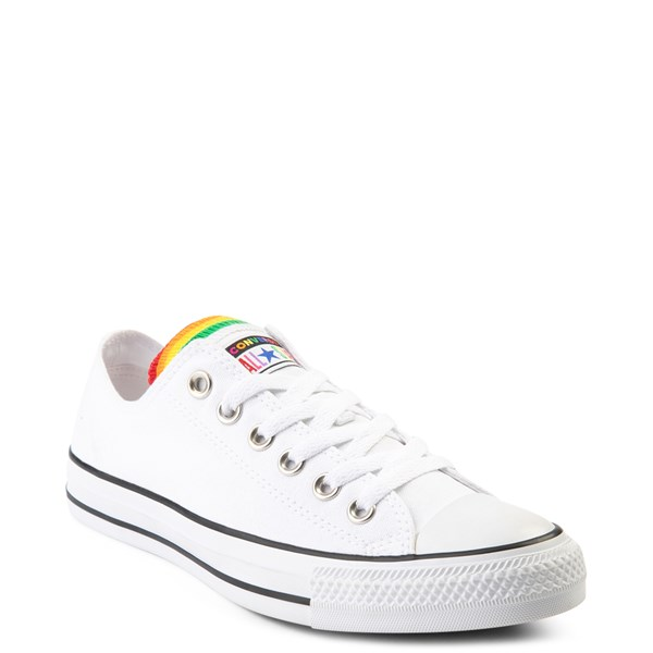 alternate view Converse Chuck Taylor All Star Lo Multi Tongue Sneaker - White / MultiALT1B