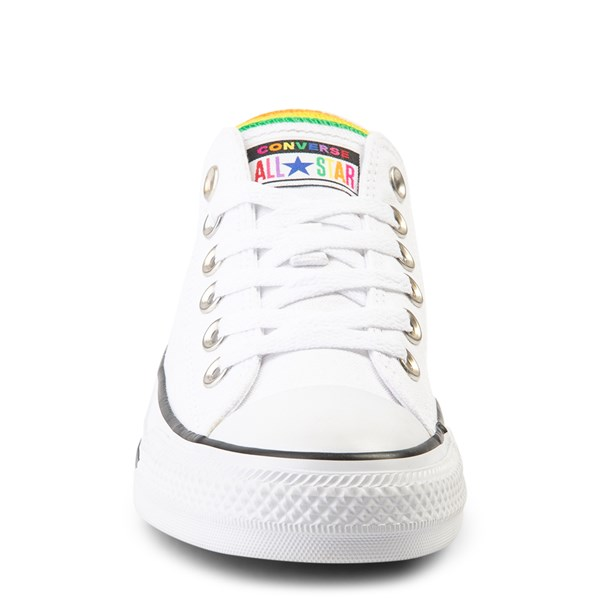 alternate view Converse Chuck Taylor All Star Lo Multi Tongue Sneaker - White / MultiALT4