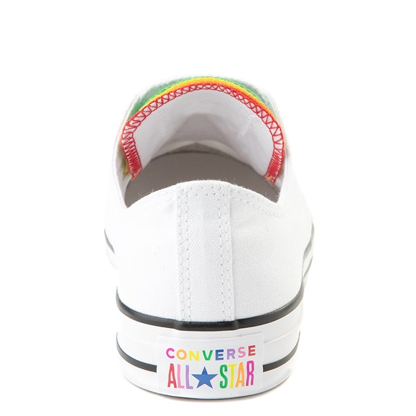 alternate view Converse Chuck Taylor All Star Lo Multi Tongue Sneaker - White / MultiALT6