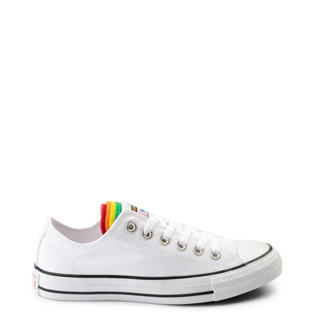 Converse Chuck Taylor All Star Lo Multi Tongue Sneaker - White / Multi