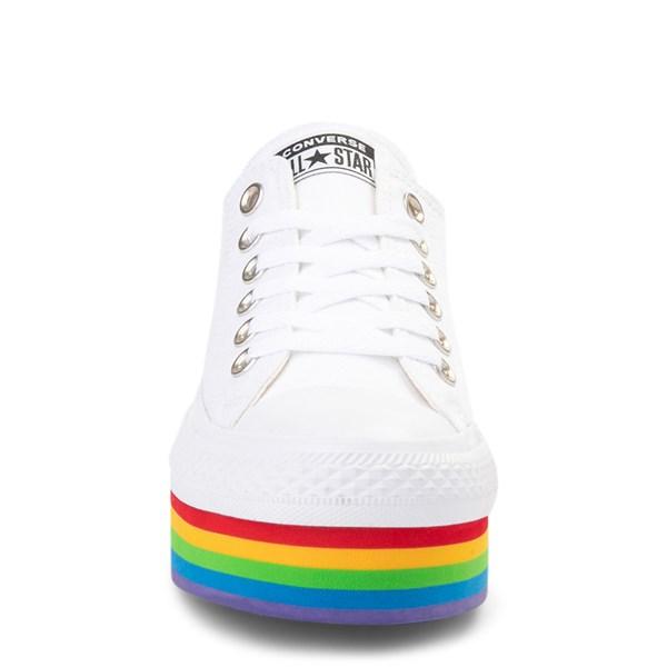 alternate view Womens Converse Chuck Taylor All Star Lo Platform SneakerALT4