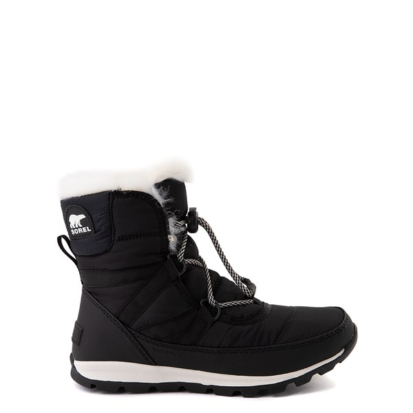 Main view of Sorel Whitney™ Short Boot - Little Kid / Big Kid - Black