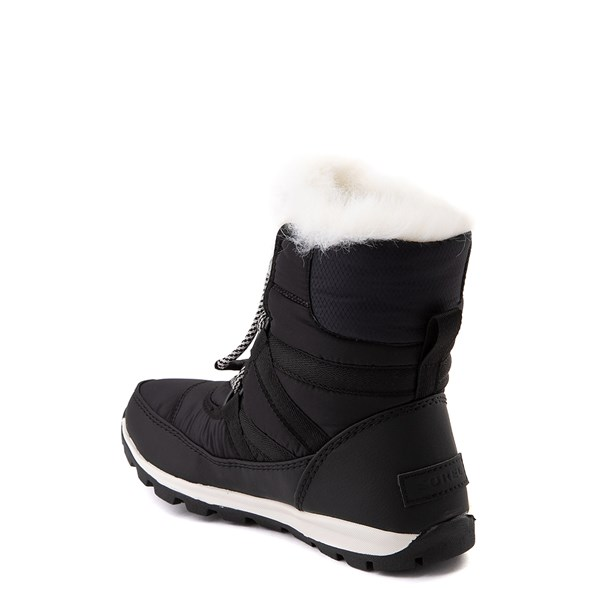 alternate view Sorel Whitney™ Short Boot - Little Kid / Big Kid - BlackALT2