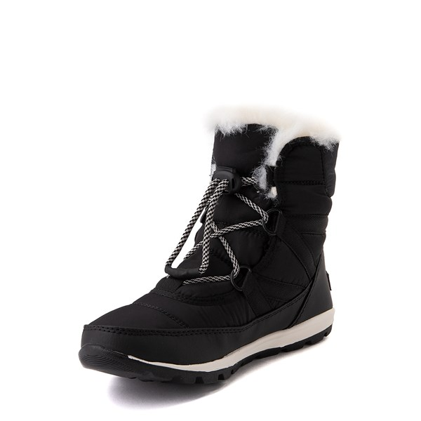 alternate view Sorel Whitney™ Short Boot - Little Kid / Big Kid - BlackALT3