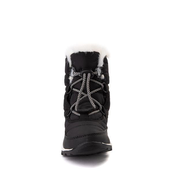 alternate view Sorel Whitney™ Short Boot - Little Kid / Big Kid - BlackALT4