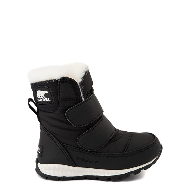 Main view of Sorel Whitney™ Strap Boot - Baby / Toddler - Black