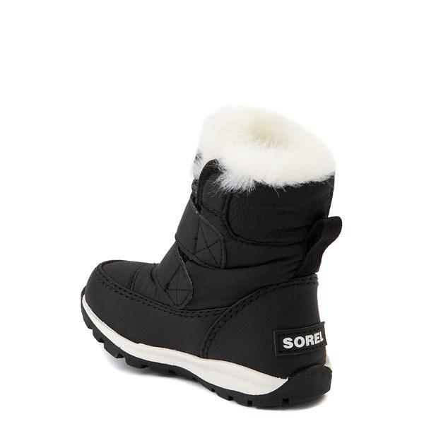 alternate view Sorel Whitney™ Strap Boot - Baby / Toddler - BlackALT2