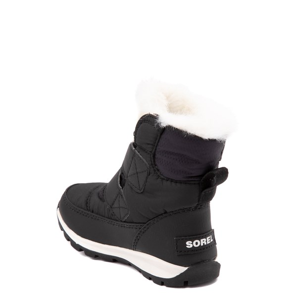 alternate view Sorel Whitney™ Strap Boot - Toddler / Little Kid - BlackALT2