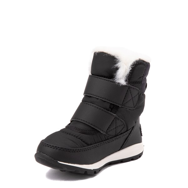 alternate view Sorel Whitney™ Strap Boot - Toddler / Little Kid - BlackALT3