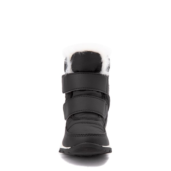 alternate view Sorel Whitney™ Strap Boot - Toddler / Little Kid - BlackALT4