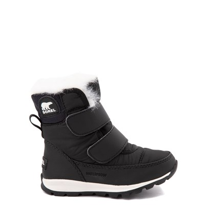 Main view of Sorel Whitney™ Strap Boot - Toddler / Little Kid - Black