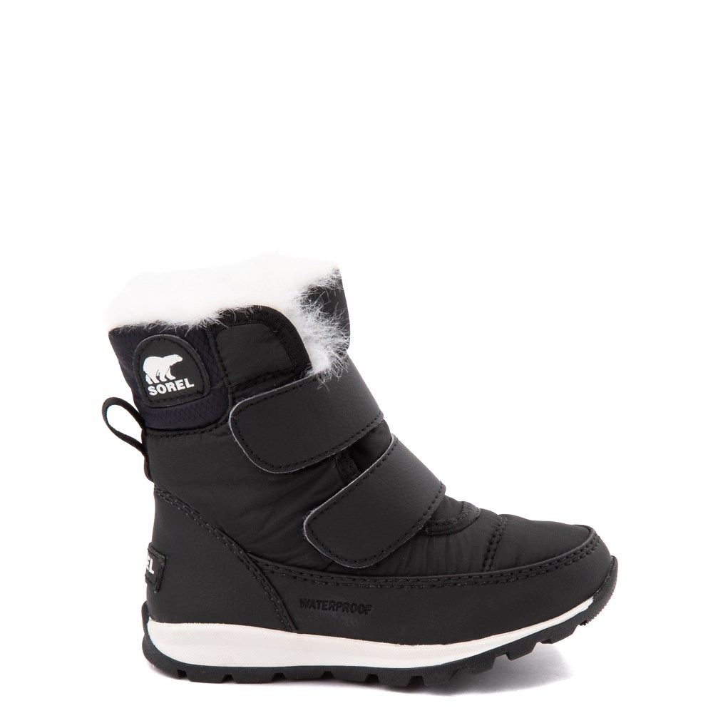 Sorel Whitney™ Strap Boot - Toddler / Little Kid - Black
