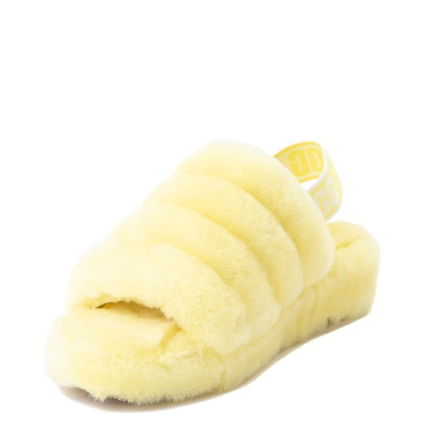 alternate view Womens UGG® Fluff Yeah Slide SandalALT3