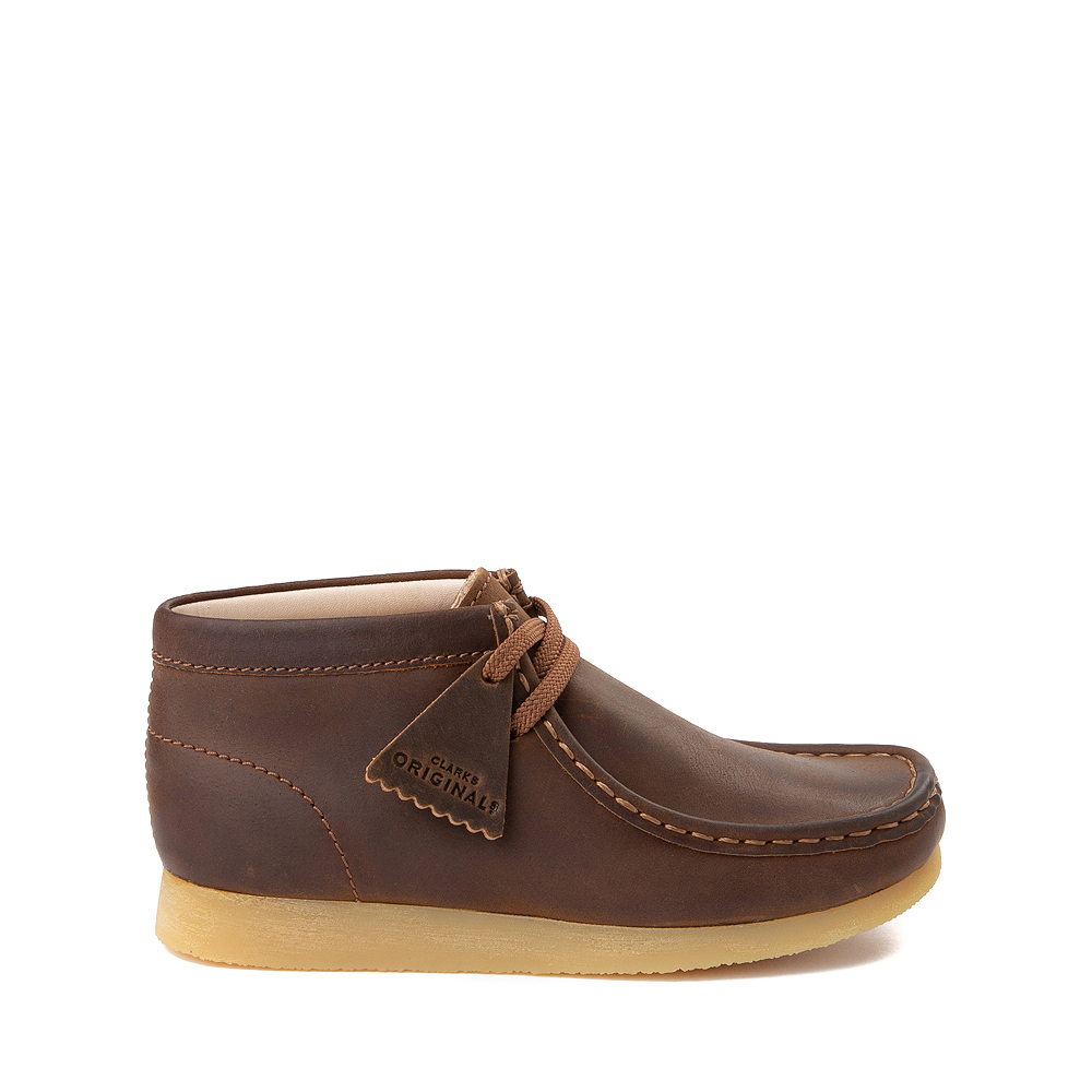 Clarks Originals Wallabee Chukka Boot - Little Kid - Brown