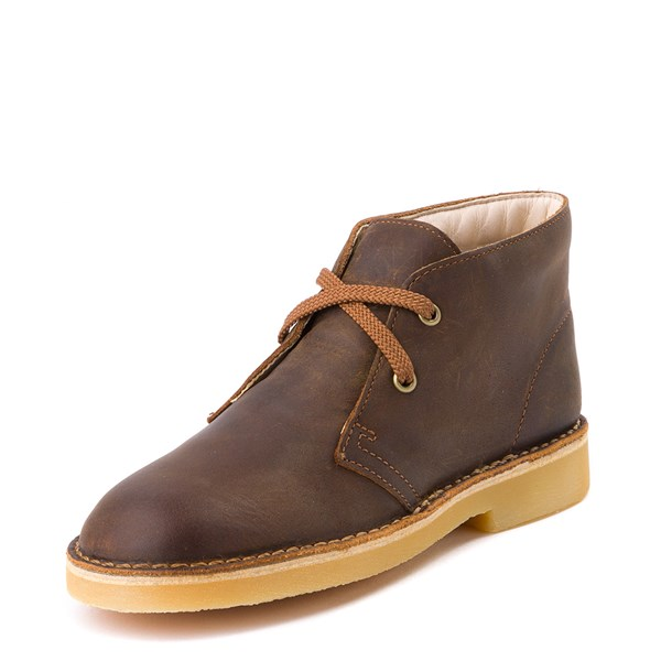 alternate view Clarks Desert Boot - Little Kid - BrownALT3