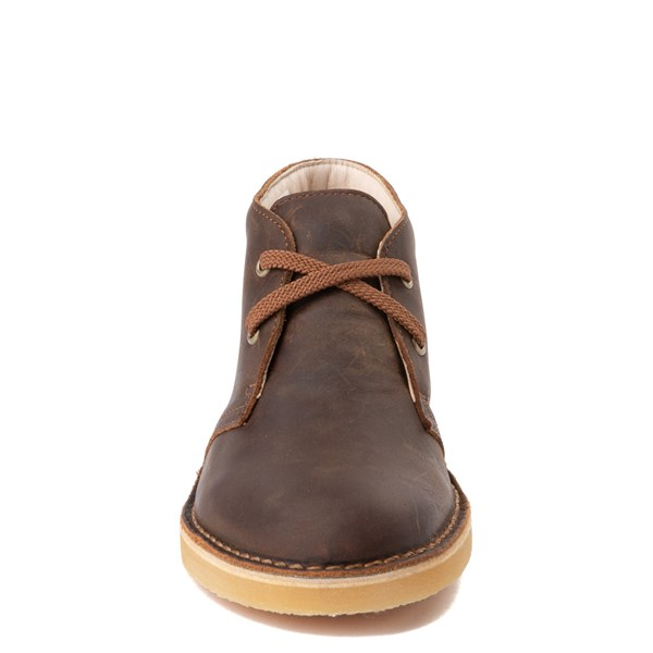 alternate view Clarks Desert Boot - Little Kid - BrownALT4