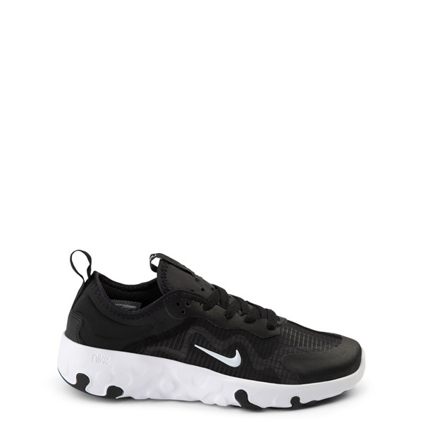 Main view of Nike Renew Lucent Athletic Shoe - Big Kid - Black / White