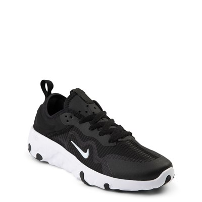 Alternate view of Nike Renew Lucent Athletic Shoe - Big Kid - Black / White