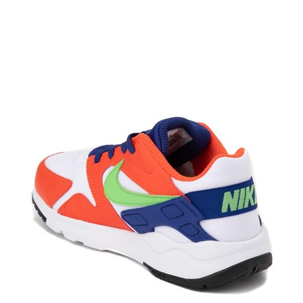 alternate view Nike LD Victory Athletic Shoe - Little Kid - White / Orange / GreenALT2