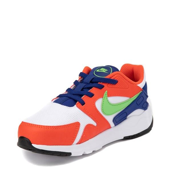 alternate view Nike LD Victory Athletic Shoe - Little Kid - White / Orange / GreenALT3