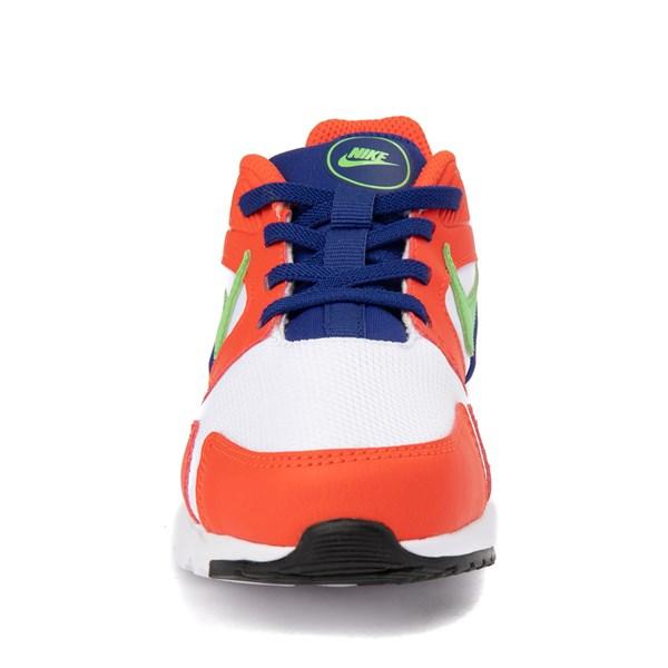 alternate view Nike LD Victory Athletic Shoe - Little Kid - White / Orange / GreenALT4