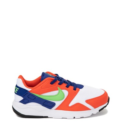 Main view of Nike LD Victory Athletic Shoe - Little Kid - White / Orange / Green
