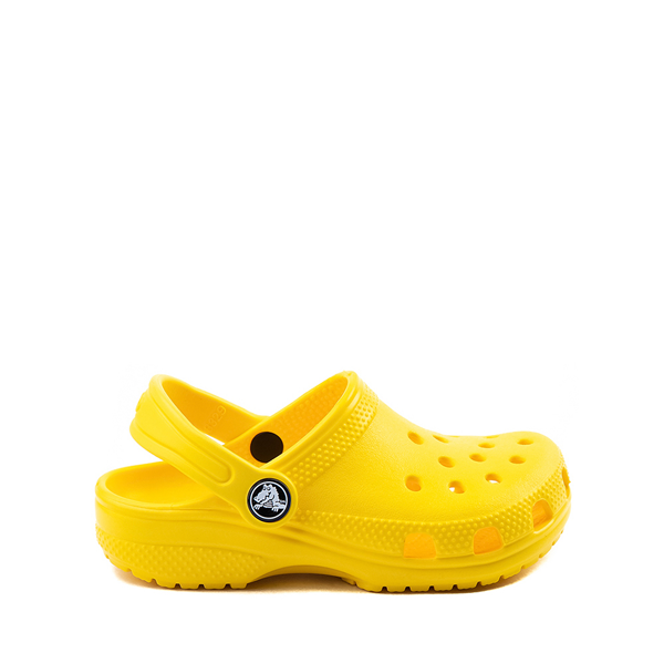 Main view of Crocs Classic Clog - Little Kid / Big Kid - Yellow