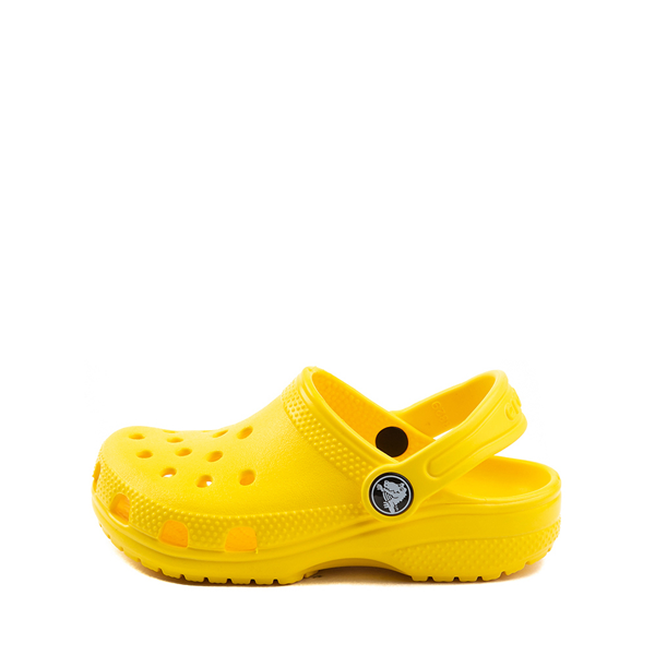 alternate view Crocs Classic Clog - Little Kid / Big Kid - YellowALT1
