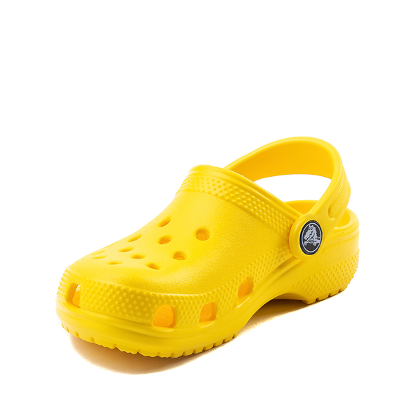 alternate view Crocs Classic Clog - Little Kid / Big Kid - YellowALT2