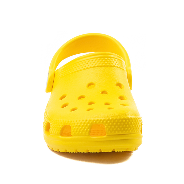 alternate view Crocs Classic Clog - Little Kid / Big Kid - YellowALT4