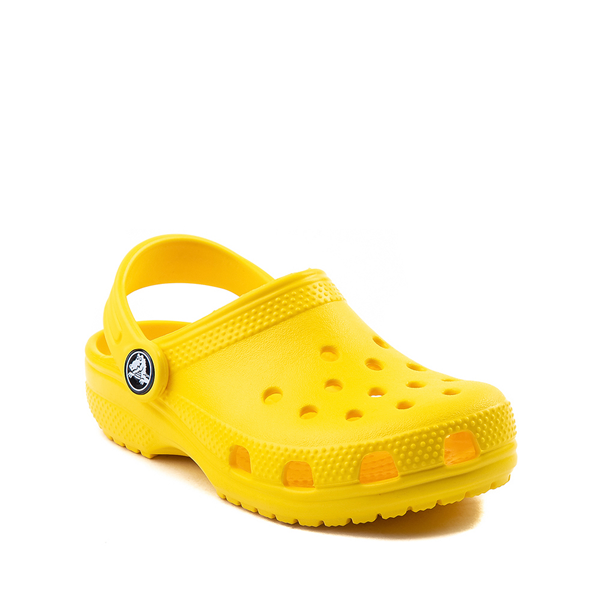 alternate view Crocs Classic Clog - Little Kid / Big Kid - YellowALT5
