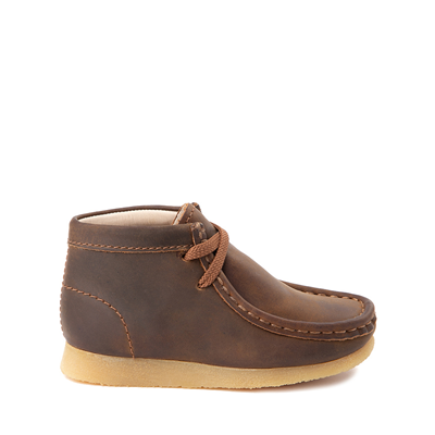 Main view of Clarks Originals Wallabee Chukka Boot - Toddler - Brown