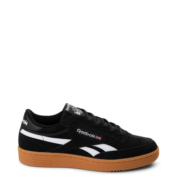 Mens Reebok Club C Revenge Athletic Shoe - Black / White / Gum